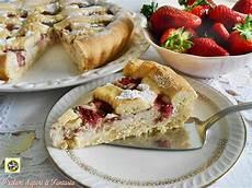 crostata con crema alla ricotta e frutti di bosco un dolce molto delicato perfetto per chiudere crostata con crema di ricotta e fragole ricetta
