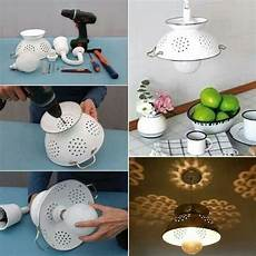 recycle old items into diy budget lighting projects that