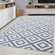 tapis scandinave de salon rectangle adza