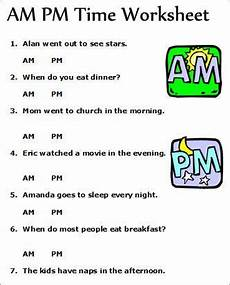 telling time worksheets using am and pm 3220 am pm telling time worksheets concept for assessing students understanding of am pm with