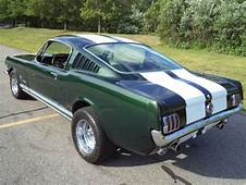 1965 FORD MUSTANG 2 FASTBACK SHELBY GT 350 IVY GREEN