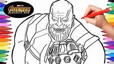 Ironman Malvorlagen Ragnarok Infinity War Thanos Drawing And Coloring Thanos