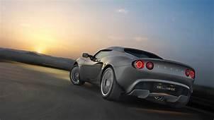 Sunset Cars Roads Lotus Elise Sports Gray Wallpaper