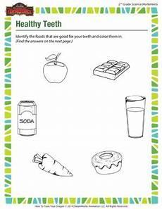 healthy teeth online science worksheets for 2nd grade sod