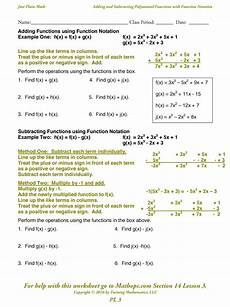 pl 3 adding and subtracting polynomial functions with