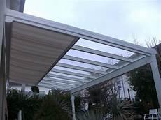 markise 3m x 2 5m terrassen 252 berdachung aus alu bis 150kg m 178 vsg 8mm quot klar