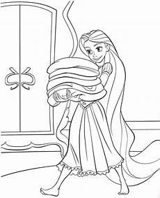 Malvorlagen Rapunzel Coloring Pages Disney Princess Tangled Rapunzel Free For