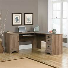 home office corner desk furniture harbor view corner desk salt oak the brick