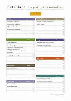 Putzplan Der Praktische Putzrhythmus Monatlich