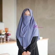 Model Jilbab Bergo Syari Terbaru Dari Syandana