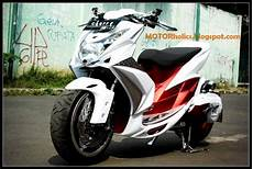 Modif Mio Soul 2010 by Motorcontest Yamaha Mio Soul White And Modificatin