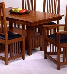 American Made Dining Room Furniture usa made mission style oak dining room set