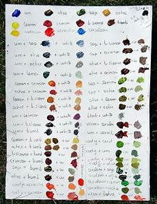 stephani fine art flowapowaart com color mixing paint paint color chart color mixing chart