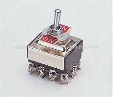 6 pole on on 3 pdt toggle switch snap switch 903