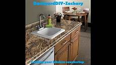 Kitchen Counter With Sink by Diy Time Cutting Kitchen Sink And Counter Top