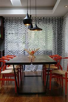 25 trendy dining rooms with spunky orange modern dining table dark wood dining table dining