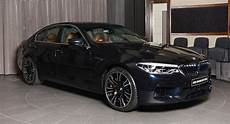 does the all new bmw m5 more stylish in azurite black carscoops