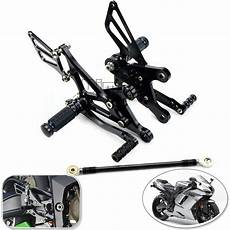 2006 kawasaki zx6r parts cnc adjustable rearsets for kawasaki zx 6r zx636