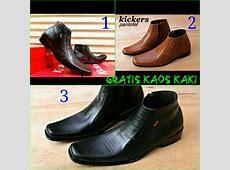 Jual Sepatu Kerja Kantor Pria / Kickers Boots Pantofel