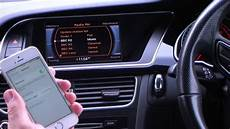 how to pair your iphone to the bluetooth system in a 2012 62 audi a5 2 0 tdi 177 quattro black