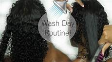 my affordable wash day routine for defined 3b 3c hair ashh mua youtube