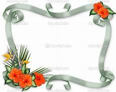 bordure en fleur 24 best images about hawaiian wedding on