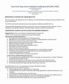 sle registered nurse resume 9 exles in word pdf