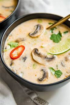 tom kha gai suppe best tom kha gai soup thai coconut chicken soup