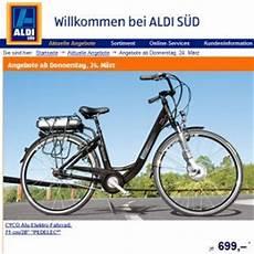 E Bike Aldi - e bike bei aldi s 252 d