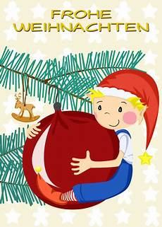 quot frohe weihnachten wichtel quot grafik illustration als poster