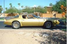 pontiac firebird 79 buy used 79 pontiac trans am 6 6 liter auto solar gold