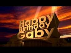 happy birthday bilder happy birthday gaby