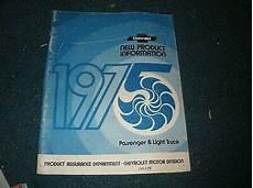 service and repair manuals 1975 chevrolet corvette security system 1975 chevrolet corvette camaro nova new product information shop service manual ebay