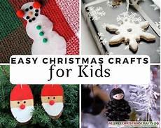 basteln weihnachten kinder 38 really easy crafts for