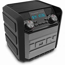 ion audio tailgater express 20w water proof bluetooth