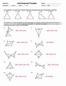 congruent worksheets congruent triangles worksheet grade 9 kids activities