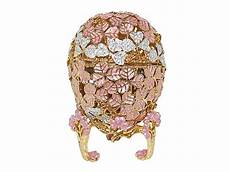 new swarovski crystal pink faberge egg w music box faberge eggs in 2019 faberge eggs eggs