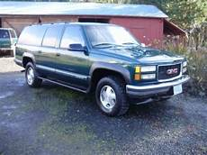 all car manuals free 1998 gmc suburban 1500 spare parts catalogs sell used 1998 gmc suburban sierra sle 1500 4wd rust free very straight clean in portland