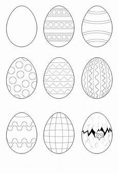 Malvorlage Osterei Blanko Osterei Malvorlagen Ostern Easter And Rock