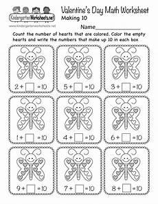 valentines math worksheets s day math worksheet free kindergarten holiday worksheet for kids