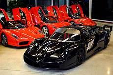 Garage Schumacher by Michael Schumacher Enzo And One Fxx Up For Sale