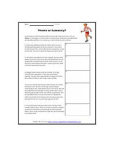 poetry theme worksheets 25363 determining themes of stories dramas or poems worksheets reading themes primary lessons