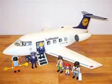 playmobil 3187 flugzeug airline lufthansa ebay