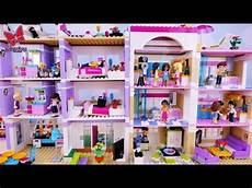 Malvorlagen Lego Friends House Two In Two Houses Lego Friends Story For