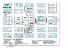 mapping worksheets for esl 11504 city map giving directions esl worksheet by esl augsburgerart