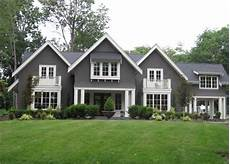 Gray Siding Cottage Home Exterior Pratt And Lambert