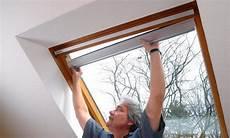 Dachfenster Mit Rollo - dachfenster rollo selbst de