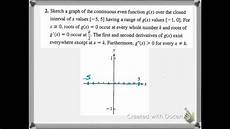 curve sketching concepts worksheet 3 6b youtube