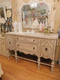 Shabby Chic Antique Buffet Gray And By