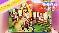 Playmobil Country Ausmalbilder Playmobil Reiterhof Country Unboxing Und
